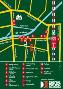 Lageplan - 4. Höfenacht Königs Wusterhausen