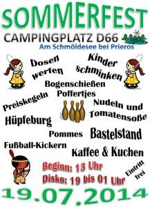 Sommerfest 2014 - Campingplatz D66